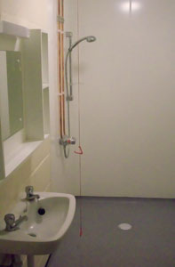 Disabled Shower